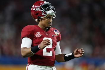 Alabama QB Jalen Hurts Enters NCAA Transfer Portal: Report