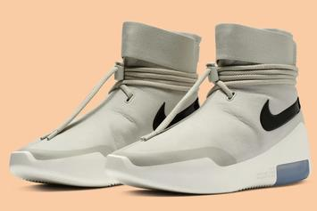 "Nike Air Fear Of God Shoot Around ""Light Bone"" Release Details"