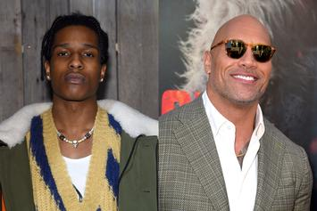 A$AP Rocky Gets Major Love From Dwayne Johnson Ahead Of Yams Day 2019