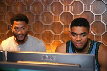 Derrick Rose Helped Karl-Anthony Towns Cope With The Jimmy Butler Saga