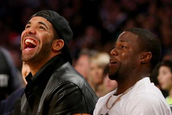 "Drake Trolls Kevin Hart On His ""Terrible"" Beard: ""What About Your Barber"""