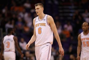 Kristaps Porzingis Wants Out Of New York: Report