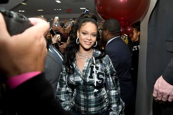 Rihanna's New Album Is Reportedly Finished