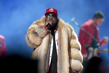 Big Boi Blasted By PETA For Super Bowl Fur Coat