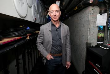 Jeff Bezos Spotted With Tyga, Meek Mill & More Over Super Bowl Weekend