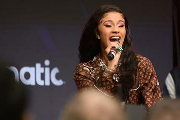 "Cardi B ""Gets Ghetto"" To Defend 21 Savage's Authenticity"