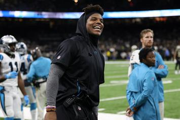 Cam Newton Documents Shoulder Recovery With New YouTube Channel