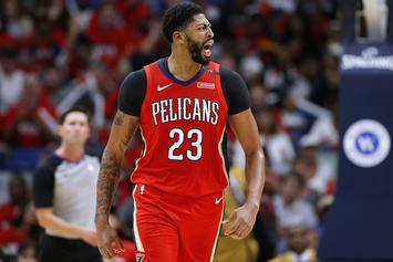 "Anthony Davis Reacts To Pelican Fans Booing Him: ""That Was Awkward"""