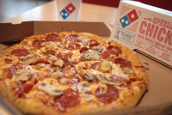 Domino's Is Giving Away Free Pizza