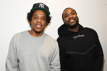 "Meek Mill Says He Saw Grown Men ""Throw It All Away"" For A Pic With Jay-Z"