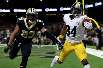 """Antonio Brown Says Deuces To The Steelers: """"Time To Move On And Forward"""""""