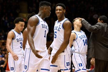 R.J. Barrett Records 4th Triple-Double In Duke's History
