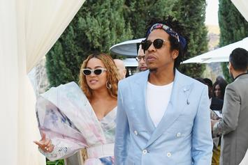 Jay-Z & Beyonce Pay Tribute To Meghan Markle While Celebrating Brit Award Win