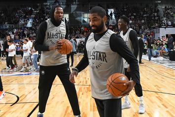 Kyrie Irving Is Sick And Tired Of The Media's Kevin Durant Speculation