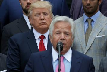 "Donald Trump Says Robert Kraft's Soliciting Prostitution Charges Are ""Very Sad"""