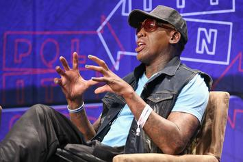 "Dennis Rodman Tells Joel Embiid To ""Shut The F*** Up"" Over Michael Jordan Comments"