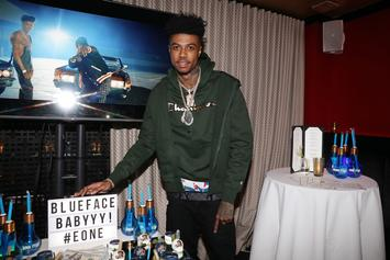 "Blueface Shares Credit For Bust Down Dance: ""I Might Not Be The Biological Parent"""