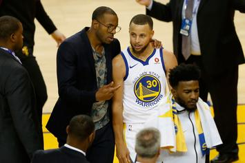 """Andre Iguodala Labels Steph Curry """"Second-Best Point Guard Ever"""""""
