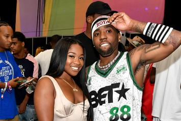 """YFN Lucci Tells Reginae Carter That They're """"Stuck Together"""""""
