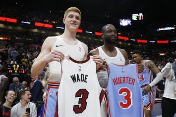 Dwyane Wade Says He Wanted To Surprise Kevin Huerter With Jersey Swap
