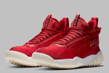 "Jordan Proto React ""University Red"" Official Images Released"
