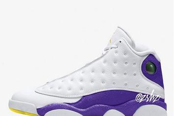 "Air Jordan 13 ""Lakers"" Rumored To Release This Year"