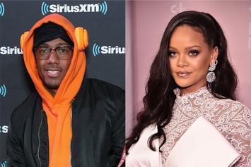 Nick Cannon Lusts Over Rihanna's Golden Thirst Trap
