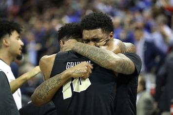 UCF Players Break Down In Tears After Gut-Wrenching Loss To Duke