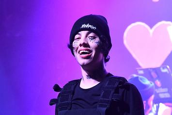 "Lil Xan Debuts An ""Ugly New Face Tat"" On Instagram"