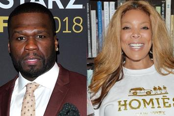 "50 Cent Trashes Wendy Williams Hard: ""It Was The Drugs"""
