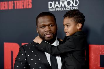 """50 Cent Shares Sweet Moments With Youngest Son Sire: """"This Guy Is Part Two"""""""