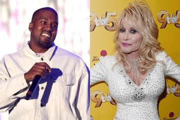 Kanye West & Dolly Parton Connected In April Fool's Day Prank