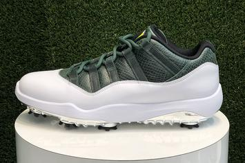 "Nike To Release Augusta-Inspired ""Masters"" Golf Cleats"