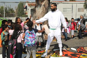 Nipsey Hussle Praised By LAPD & Mayor For Community Work At Press Conference
