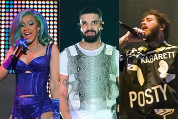 Cardi B, Drake & Post Malone Rule Billboard Music Awards Nominations