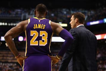 LeBron James Asked By Damon Stoudemire To Save Luke Walton's Job