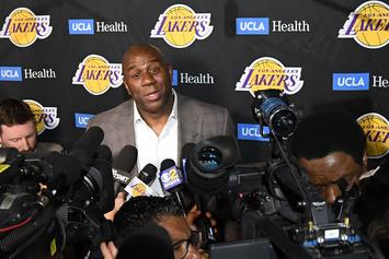 "Magic Johnson's Wife Says He Has ""No Regrets"" About Leaving Lakers"