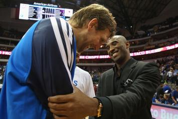 "Kobe Bryant Welcomes Dwyane Wade, Dirk Nowitzki To ""The Rocking Chair Club"""