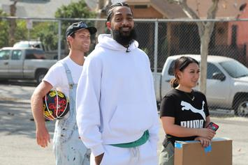 Nipsey Hussle's Free Memorial Programs Are Being Sold For Over $1,000