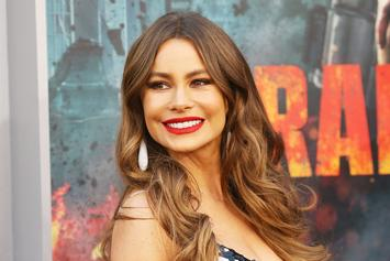 Sofia Vergara Swings Back To The '90s In Topless Throwback Photo