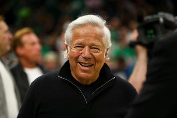 Robert Kraft Takes In Boston Celtics Game Amid Prostitution Case