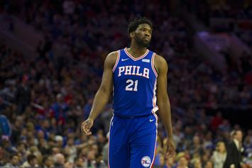 "Joel Embiid Says Series Against The Nets Is Already ""Over"""