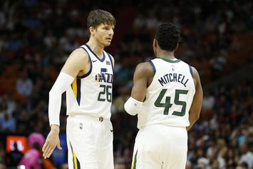 Kyle Korver Showers Donovan Mitchell With Praise After Missed Three