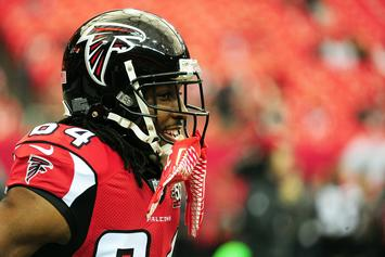 Roddy White Arrested For Carpool Lane Violation & Suspended License