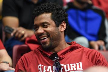 Russell Wilson Gifts $12K In Amazon Stock To His Offensive Line