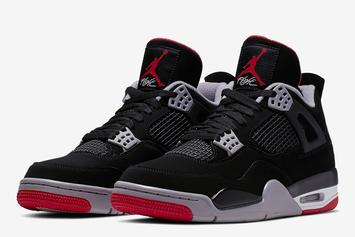 "Air Jordan 4 ""Bred"" Releases This Saturday: Store List"