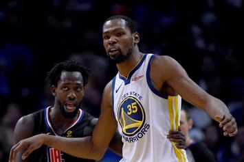 "Kevin Durant Proud Of Playoff Success: ""What I'm Geared For"""
