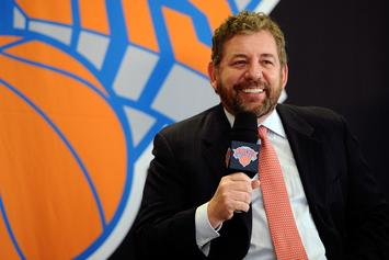 Knicks Owner James Dolan Sued For Playing Too Much With His Band