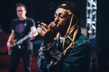 """Lil Wayne & Blink-182 Share Live Mashup Of """"A Milli"""" & """"What's My Age Again"""""""