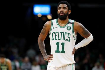"Kendrick Perkins Sounds Off On Kyrie Irving: ""He's Not A Batman"""